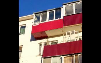 Увеличение балкона, остекление