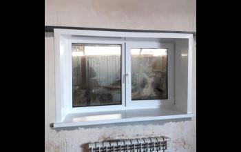 Теперь на месте стены красивое окно